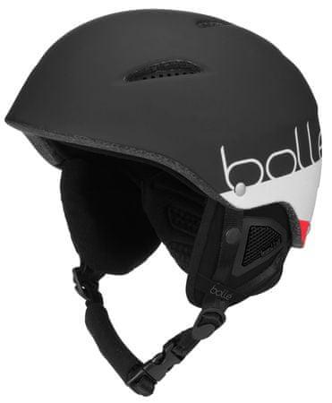 Bollé B-Style čierna/biela 54 - 58