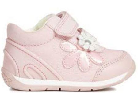 Geox dievčenské tenisky Each 19 ružová  cdce22a752