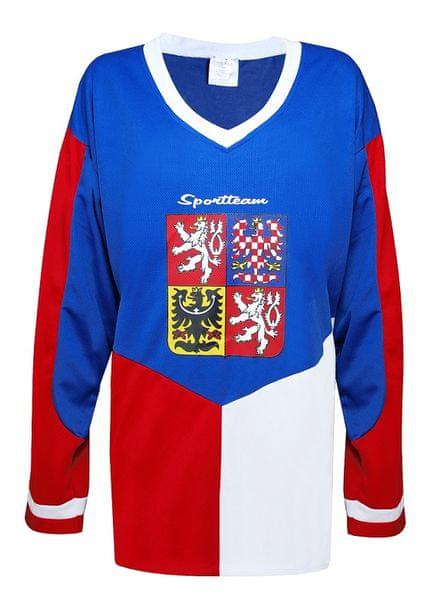 Sportteam Hokejový dres ČR 4, vel. XL
