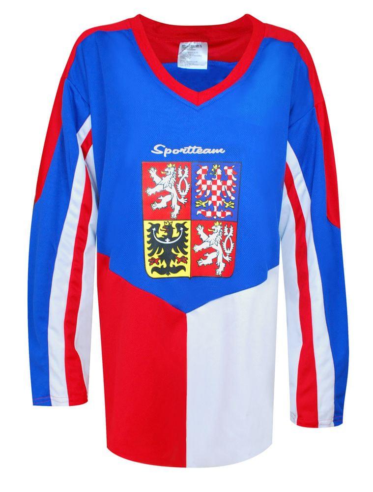 Sportteam Hokejový dres ČR 5, vel. XL