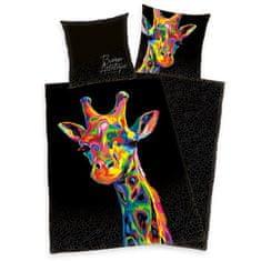 "Herding Bureau-Artistique ""Žirafa"" saténové povlečení"