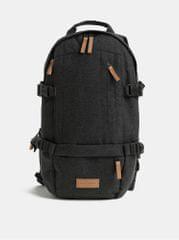 Eastpak šedý pánský voděodpudivý batoh s koženými detaily Series Floid 16 l