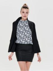 ONLY černé sako s nařasenými rukávy Zoey Diana 29623f8d60a