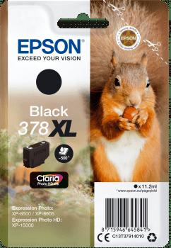 Epson 378 XL, černá (C13T37914010)