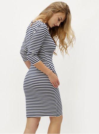 e84c18f72ac ZOOT modro-bílé pruhované šaty s kapsami XL