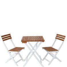 Butlers MORNING STAR Balkonový set 2 ks židle a 1 ks stůl