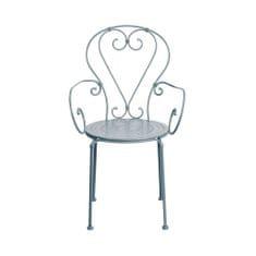 Butlers CENTURY Židle s područkami - šedá