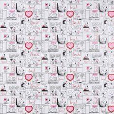 Butlers PEANUTS Balicí papír Snoopy Comic Love