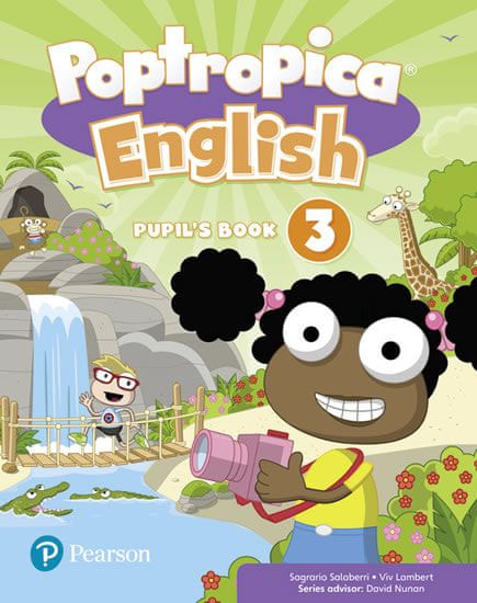 Salaberri Sagrario: Poptropica English Level 3 Pupil´s Book + PEP kód elektronicky