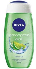 Nivea gel za prhanje Lemongrass & Oil, 250 ml