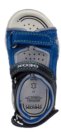 bf4d578edad Geox chlapecké sandály Agasim 23 modrá