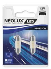NEOLUX Žárovka typ C5W, LED Interior 6000K, 31 mm, SV8.5-8