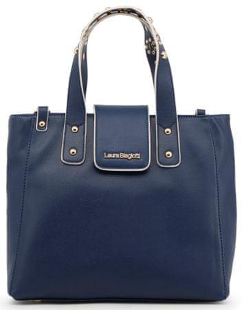 a44e6e1274d Laura Biagiotti tmavě modrá kabelka - Diskuze