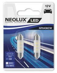 NEOLUX Žárovka typ C5W, LED Interior 6000K, 36 mm, SV8.5-8