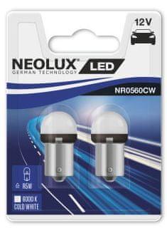 NEOLUX Žárovka typ R5W, LED Exterior 6000K, 29 mm, BA15s