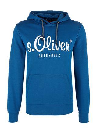 42122ada846 s.Oliver pánská mikina M modrá