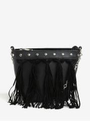 a5dde4bc277 Miss Selfridge černá crossbody kabelka s třásněmi