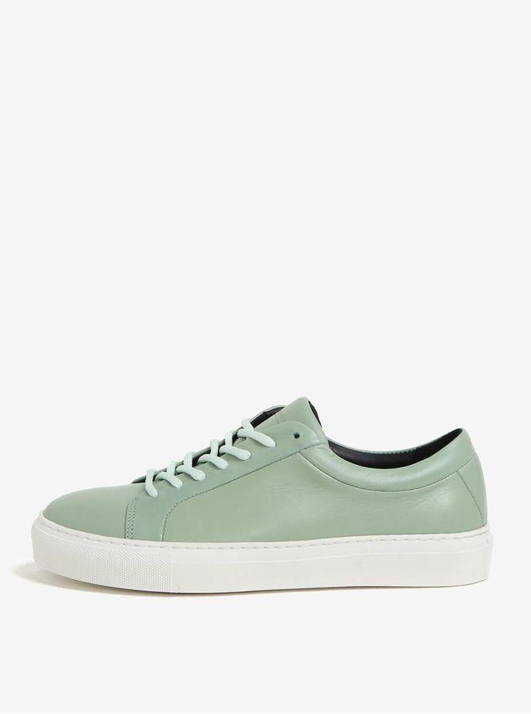 Royal RepubliQ světle zelené dámské kožené tenisky 39