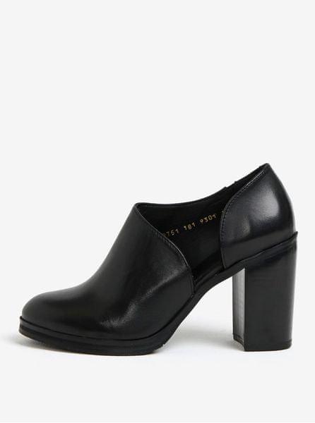 Royal RepubliQ černé dámské kožené boty na vysokém podpatku 40 29e66c65ad