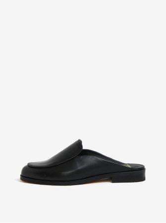 Royal RepubliQ černé dámské kožené pantofle   40