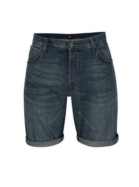 Lee modré pánské džínové kraťasy S 1182e18017
