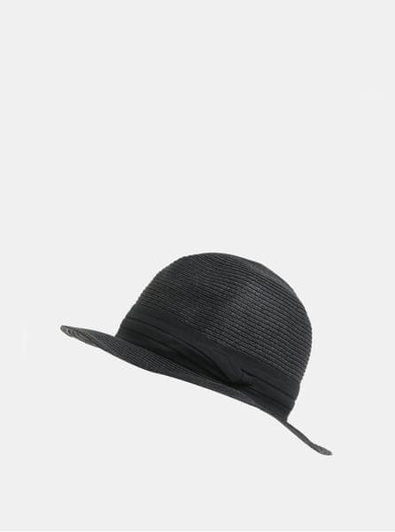 Pieces černý klobouk Ida M-L