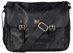 Laura Biagiotti fekete keresztpántos táska