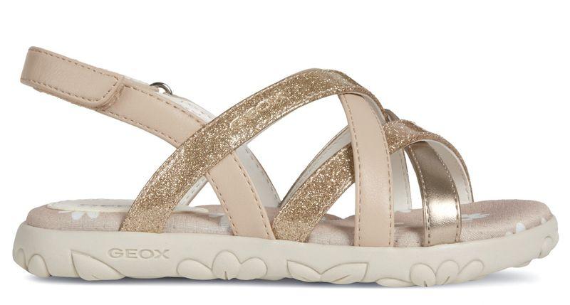 Geox dívčí sandály Hahity 24 zlatá 2cfa90ac15