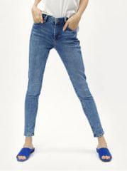 f6cc34e3fd4 Pepe Jeans modré dámské skinny džíny s vysokým pasem džíny Regent