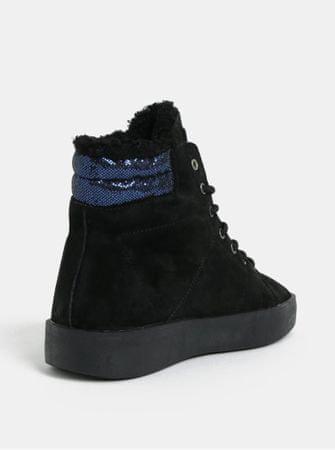 Pepe Jeans černé dámské semišové kotníkové tenisky Brixton 41  de0f5cdd14c