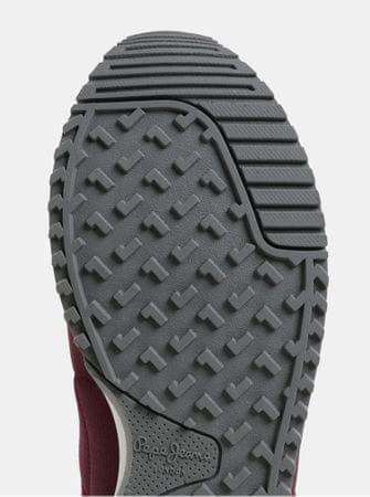 Pepe Jeans vínové pánské semišové tenisky Tinker 44  e3f89bca88
