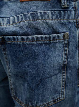 c87d5522947 Pepe Jeans tmavě modré pánské džínové kraťasy Crash short S ...