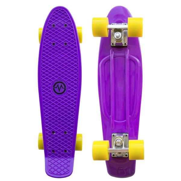 """Master Plastik Penny Board 22"""" - fialový"""
