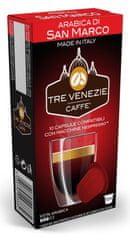 Tre Venezie ARABICA DI SAN MARCO kapsle pro kávovary Nespresso, 60 ks