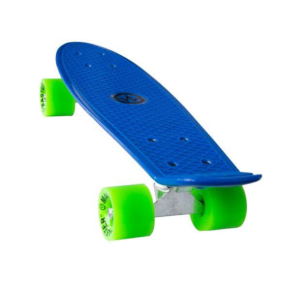 "Master Plastik Penny Board 22"" - modrý"