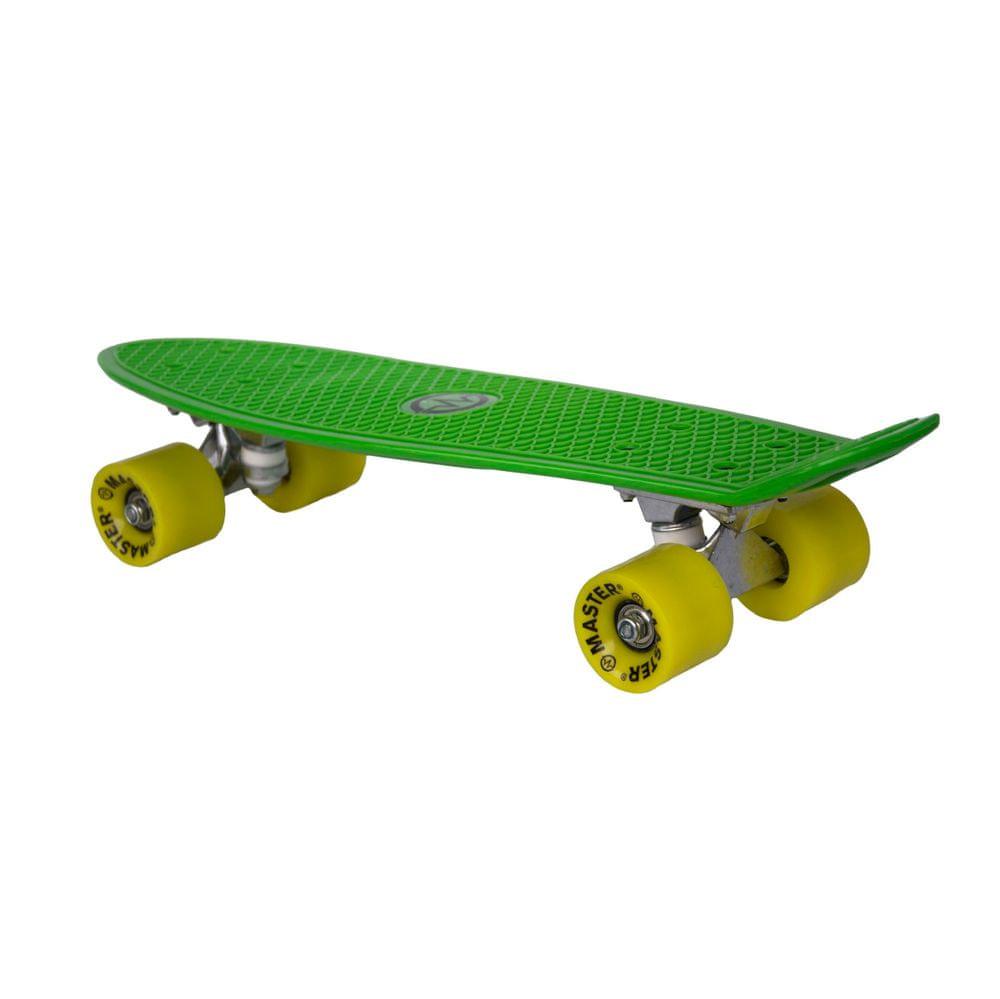 """Master Plastik Penny Board 22"""" - zelený"""
