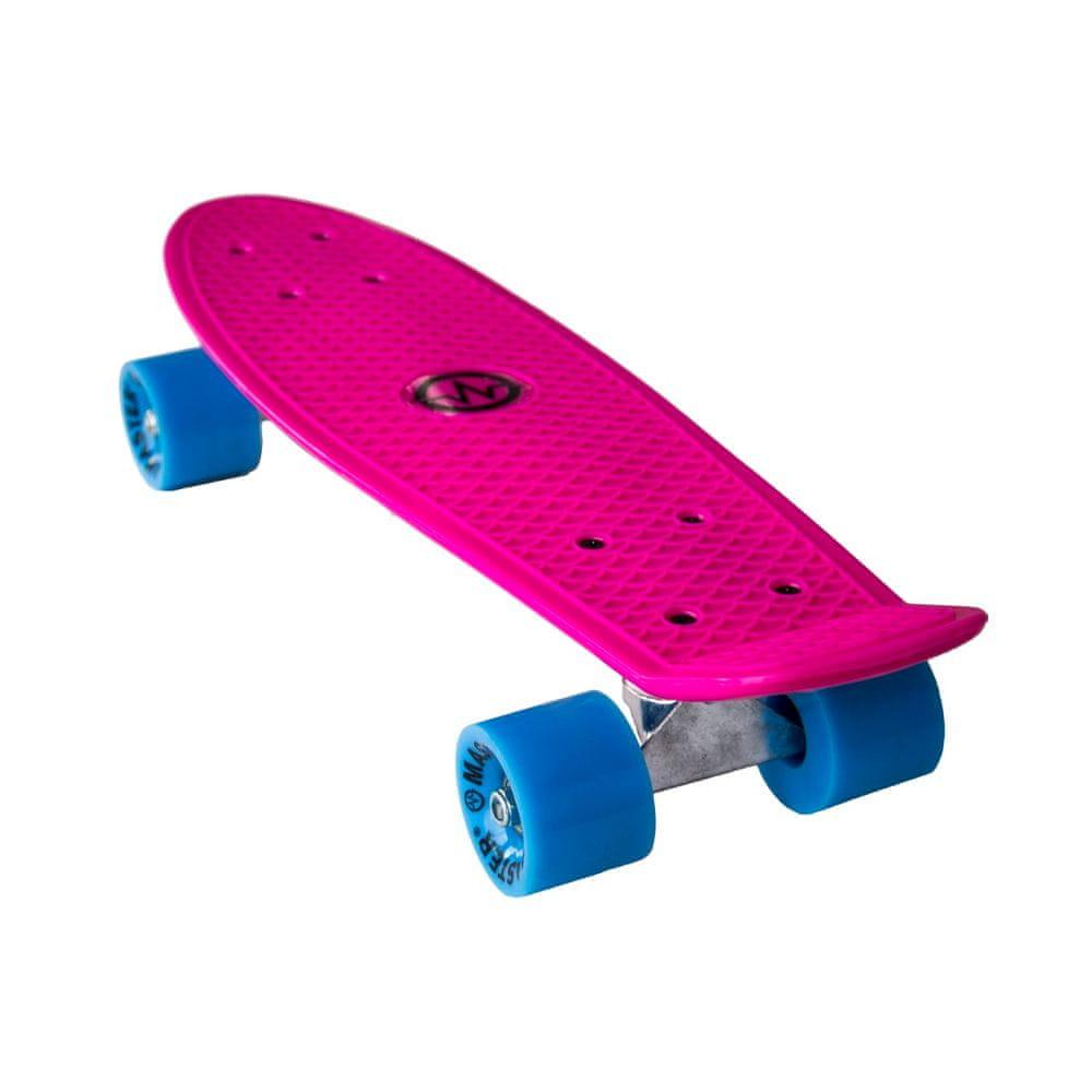 """Master Plastik Penny Board 22"""" - růžový"""
