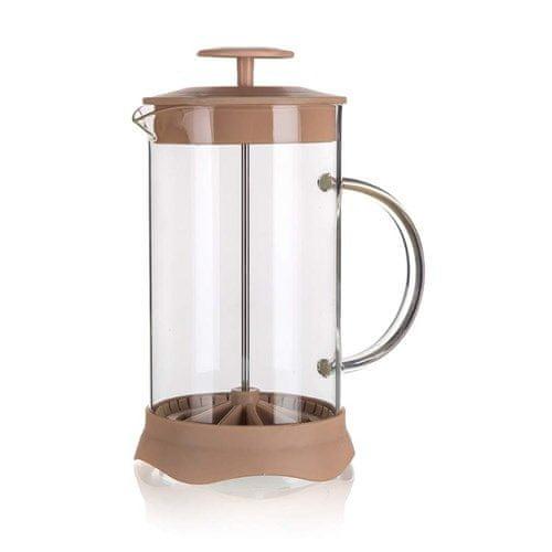 Banquet Coffee press TIAGO 1 l, brązowy