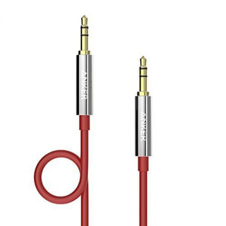 Anker audio kabel Anker Audio Cable 3.5mm, 1,2m, rdeč