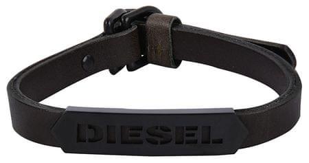 Diesel Pánsky kožený náramok DX1001001