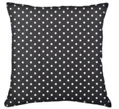 My Best Home Bavlněný polštář PUNTINI, 100% bavlna, černá 45x45 cm