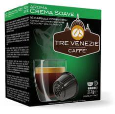 Tre Venezie CREMA SOAVE kapsle pro kávovary Dolce Gusto, 16 ks
