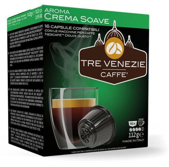 Tre Venezie Crema Soave set kapsul za kavni aparat Dolce Gusto 16 kosov