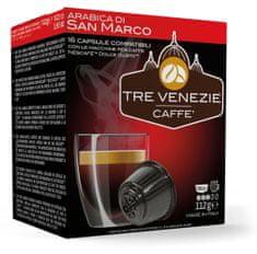 Tre Venezie kapsułki ARABICA DI SAN MARCO do ekspresu do kawy Dolce Gusto 16 szt.