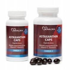 Bonaloka Astaxanthin Caps Omega 3  30 kapslí