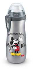 Nuk FC Palack PP Sports Cup Disney Mickey, 450 ml - szürke