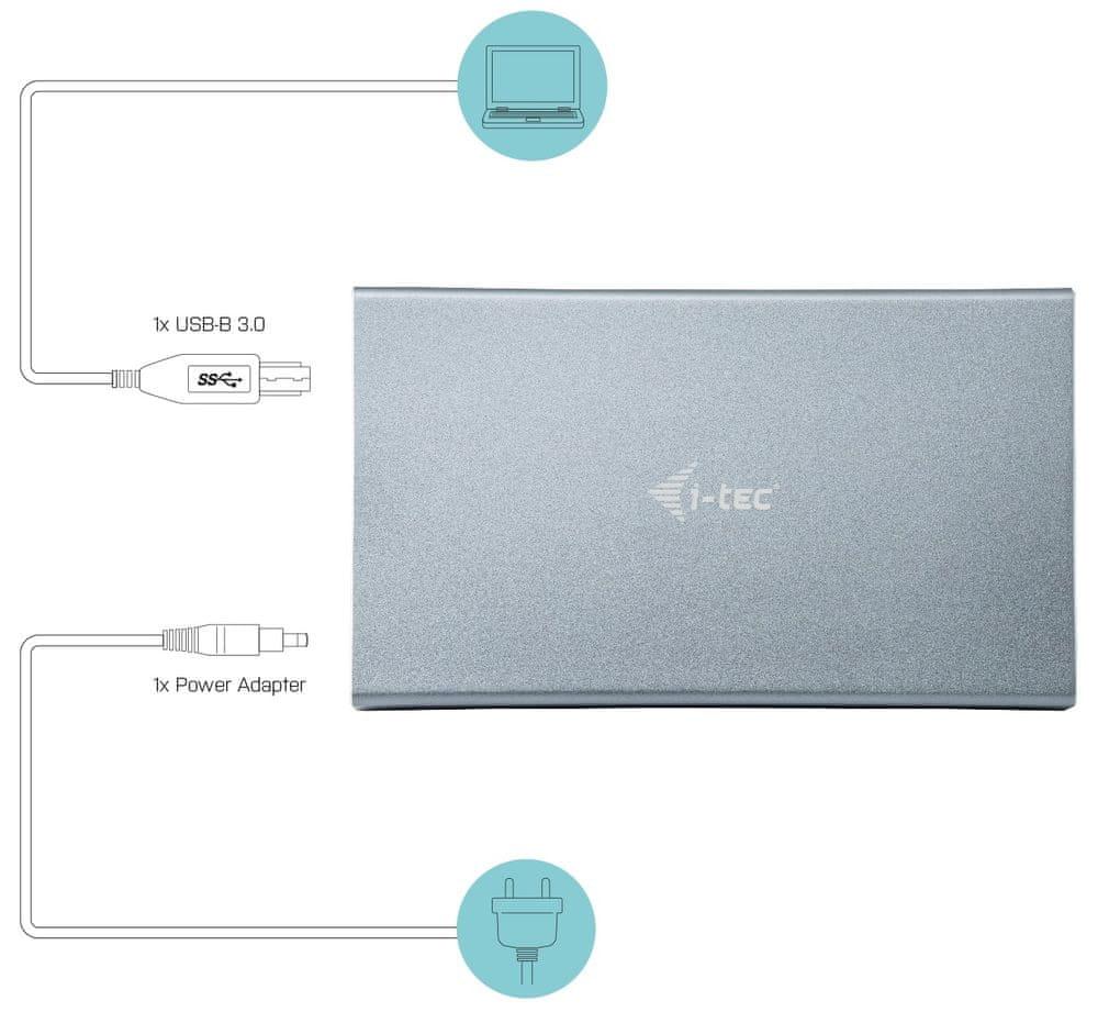 I-TEC MySafe 3.5″ rámeček, USB 3.0 U3MYSAFE035 - zánovní