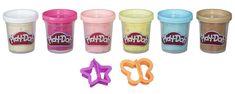 Play-Doh Sada s konfetami 6 ks