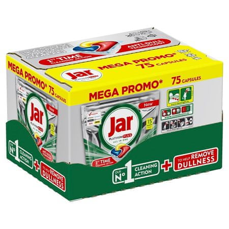 Jar Kapsle Platinum Plus 75 ks Megabox