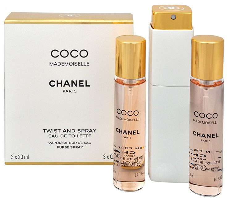 Chanel Coco Mademoiselle - EDT (3 x 20 ml) 60 ml